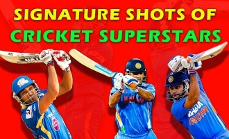 Signature shots of  Cricket Superstars