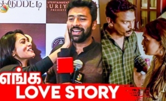 Shanthanu Kiki Cute Speech 'Sillu Karupatti' Movie Review