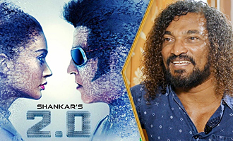 2500 men worked in the sets of 2.0 everyday : Stunt Silva Interview
