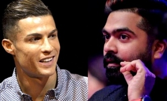 Simbu was inspired by chirstiano ronaldo physique
