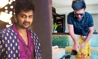 Simbu looks classy in unseen picture with nephew