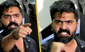 Simbu Angry Fight With Press Reporter
