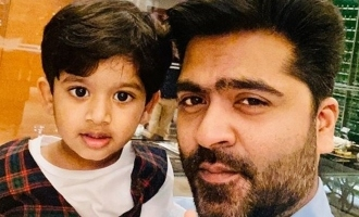 Handsome Simbu's photo with kid turns viral!