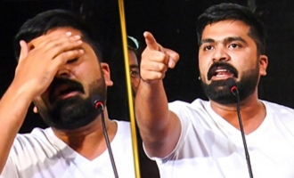 Simbu gets EMOTIONAL on Stage