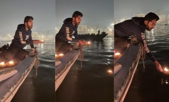 Simbu conducted special pooja on river ganges in Varanasi - Reason revealed?