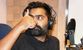 Simbu starts his dubbing for Kaatrin Mozhi Movie