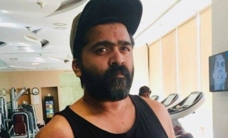 Fans stunned by Simbu's stunning workout photos!