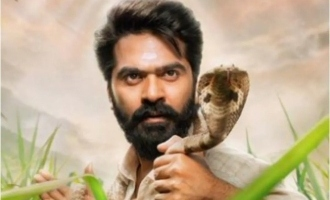 Simbu completes another work for 'Eshwaran' in record time after shooting