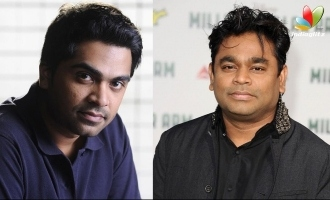 Simbu and A.R.Rahman reunite for 'Pathu Thala'  - Intriguing first look posters are here