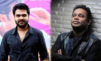 A.R. Rahman kickstarts work on Simbu's next movie