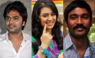Its Dhanush for Hansika after Simbu?