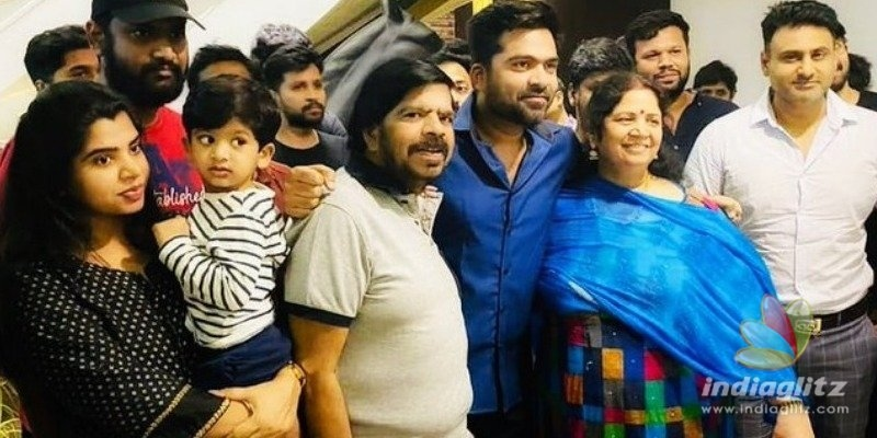 Simbu changes his name again and opts for a stylish one