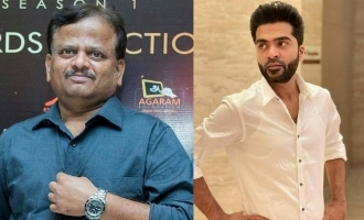 Simbu in condolence message reveals about K.V. Anand's last planned film