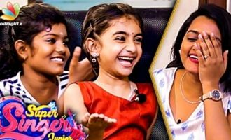 Super Singer Junior 6 - Ahana & Vidya Cute Interview