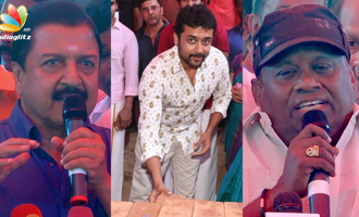 Sivakumar, Surya, Comedian Senthil speech at Nadigar Sangam New Building Pooja