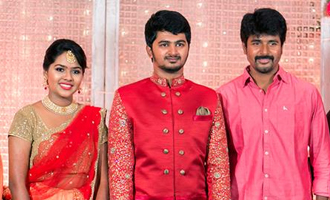 Shiva Arunvijay at Ashwin Shrea Engagement