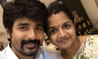 Sivakarthikeyan becomes dad to second child - 18 years dream fulfilled