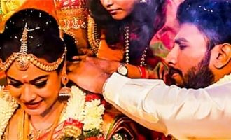 VIDEO: Emotional moment during THALI knot tying : Actor Shivakumar - Actress Suja Varunee Wedding