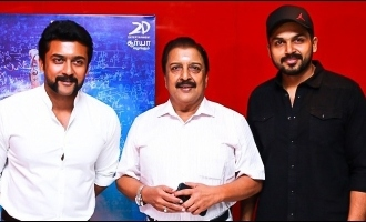 The amazing deed Suriya and Karthi did for their mom, dad and sister