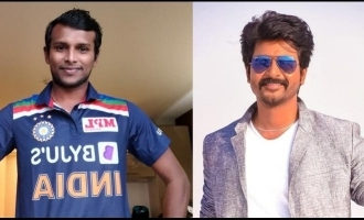 Sivakarthikeyan lauds Yorker King T. Natarajan's impressive show on debut against Aussies
