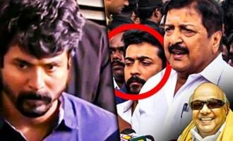 """Incomparable leader"" - Sivakarthikeyan Emotional Speech"