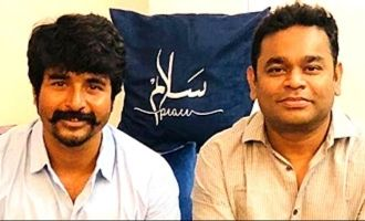 Sivakarthikeyan gets a special gift from A.R. Rahman
