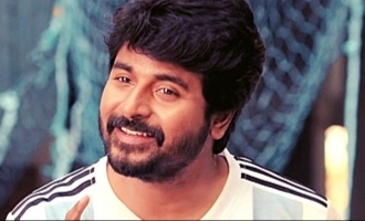 Sivakarthikeyan resumes mega project - First Image out