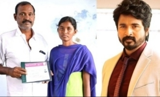 Sivakarthikeyan's massive help to underprivileged girl's doctor dream come true