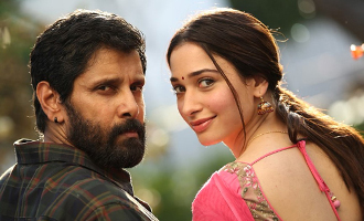 Vikram -Tamannaah's 'Sketch' exciting status update