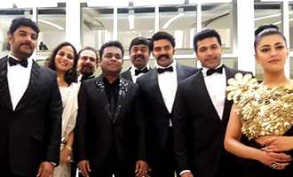 Sangamithra Team at Cannes