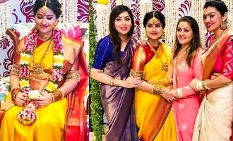 Sneha's second baby shower function conducted