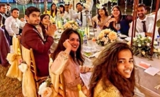 Vijay's niece Sneha Britto gets married to Atharvaa's brother Akash photos video leaked