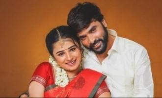 Snehan-actress Kannika Ravi pre-wedding photoshoot pics go viral