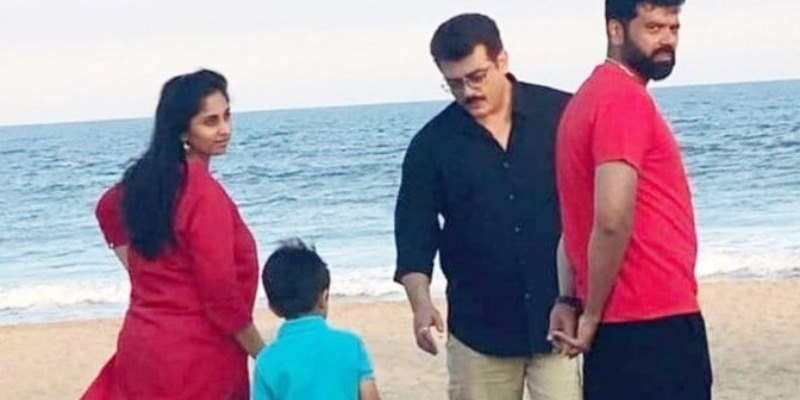 Ajith spends quality time with family before 'Thala 60' - Tamil News - IndiaGlitz.com