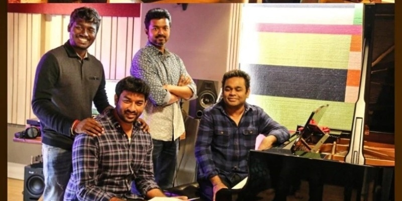 The two Mass heroes before Vijay who have sung in A.R. Rahman's music - Tamil News - IndiaGlitz.com
