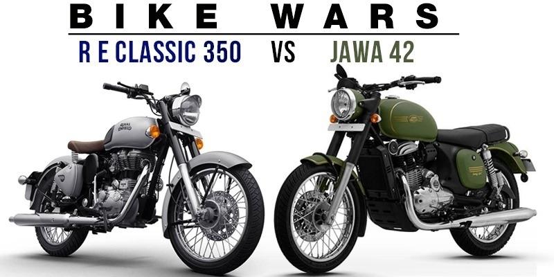 BIKE WARS - Royal Enfield Classic 350 vs Jawa 42 - Tamil News - IndiaGlitz.com
