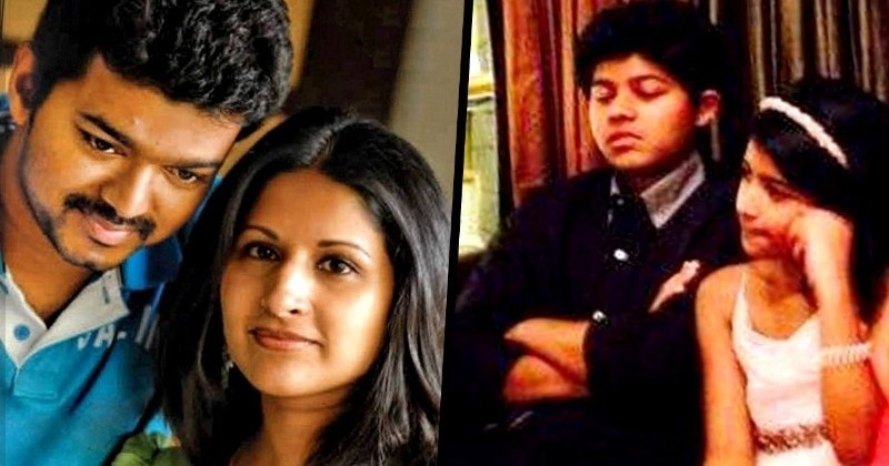 Thalapathy Vijay's wife and son team up for a new project - Tamil Movie News