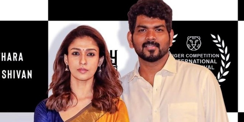 Nayanthara - Vignesh Shivan's traditional look in international film festival turns viral! - Tamil News - IndiaGlitz.com