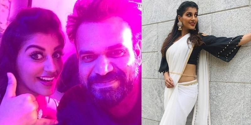 Premgi Amaran smitten by Yashika Aannand - Tamil News - IndiaGlitz.com