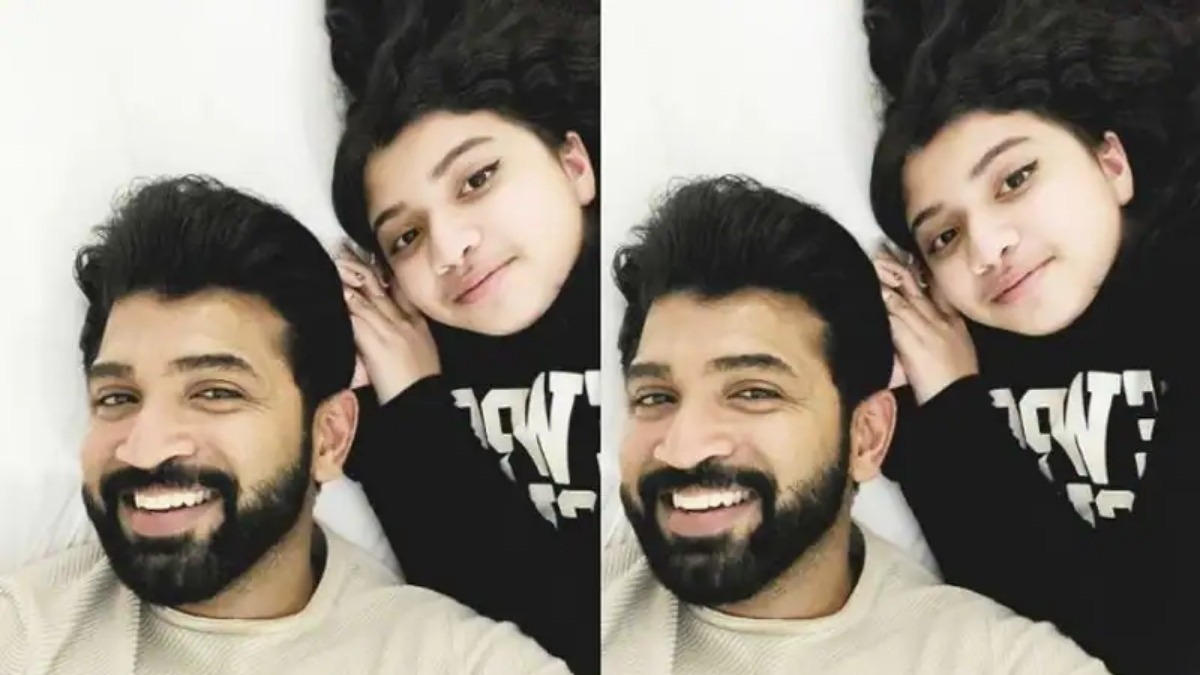 Purvi becomes a teenager – Adorable b'day wishes from Aarathi and Arun Vijay go viral – Tamil News