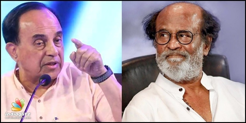 Don't believe Rajnikanth, says Subramanian Swamy! - Tamil News - IndiaGlitz.com