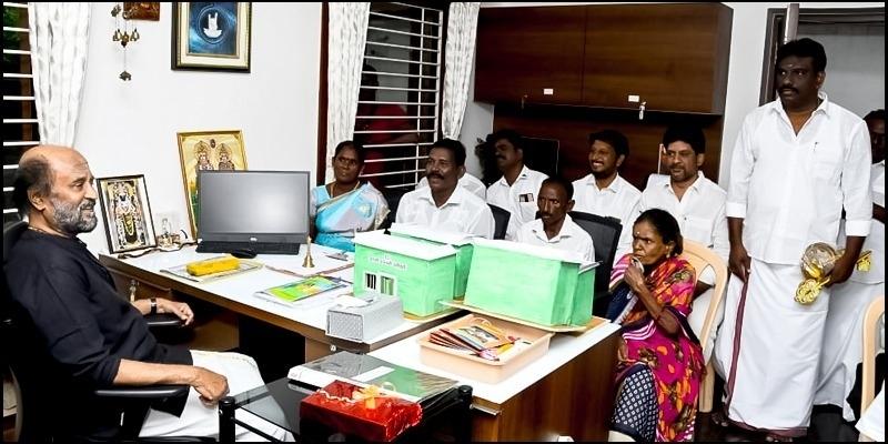 Superstar Rajnikanth's lovely gesture for Gaja cyclone victims! - Tamil News - IndiaGlitz.com