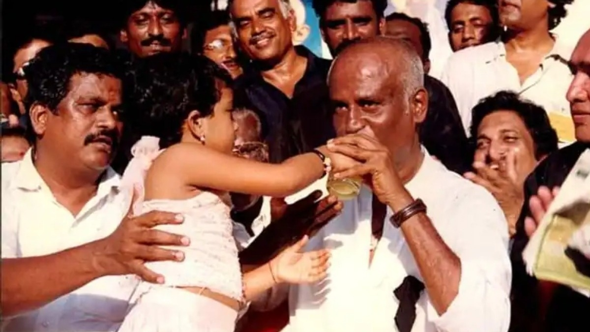 The little girl who broke Rajinikanth's hunger strike is a famous actress's daughter- Details – Tamil News