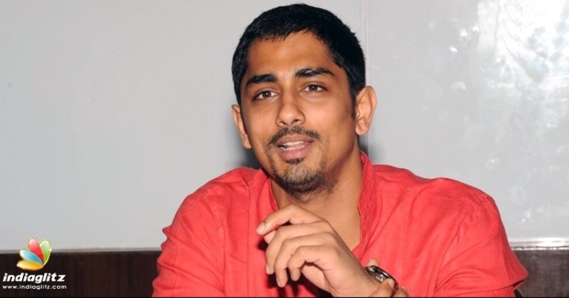 Siddharth blasts the bias in Me Too and support for Nayanthara!