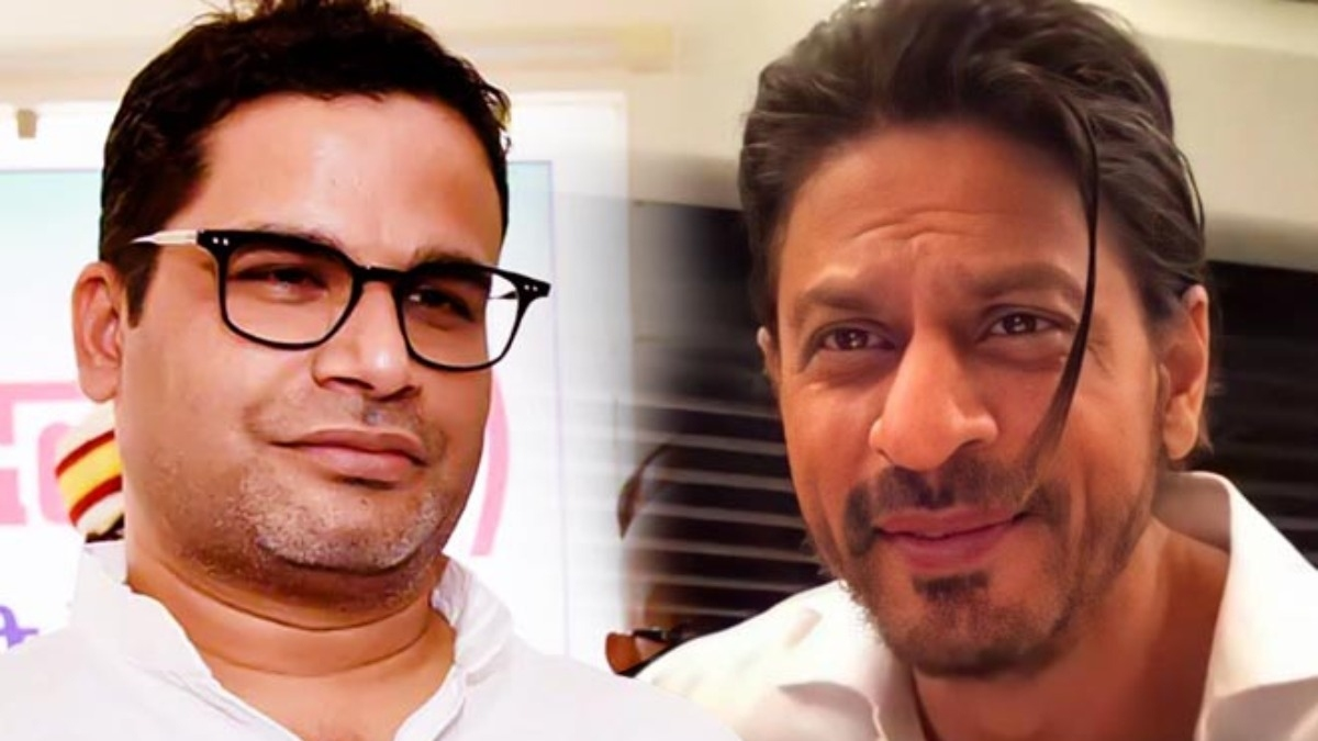 Shah Rukh Khan to make web series on political strategist Prashant Kishor's life? – Tamil News