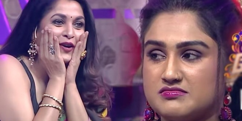 Ramya krishnan appreciate Jithan Ramesh and Samyuktha dance in BB Jodigal show – தமிழ் News