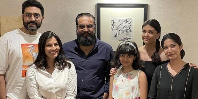 Sarathkumar meet Aiswarya rai at ponniyin selvan shooting spot – தமிழ் News