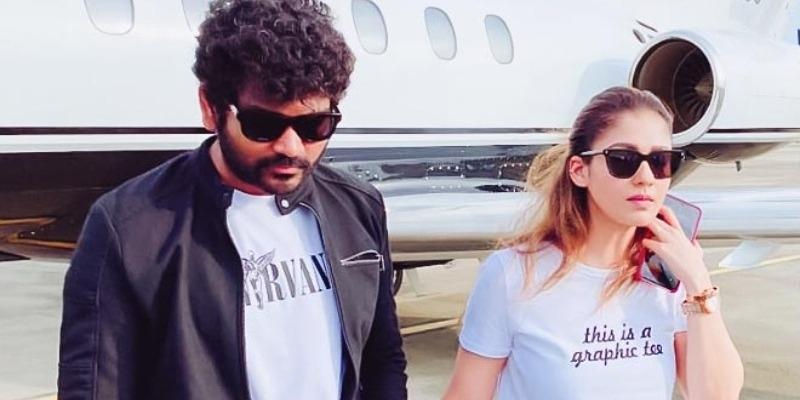 Nayanthara - Vignesh Shivan back to Chennai, photos turn viral! - Tamil News - IndiaGlitz.com