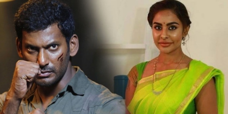 Sri Reddy makes sensational allegations against Vishal - Tamil News - IndiaGlitz.com