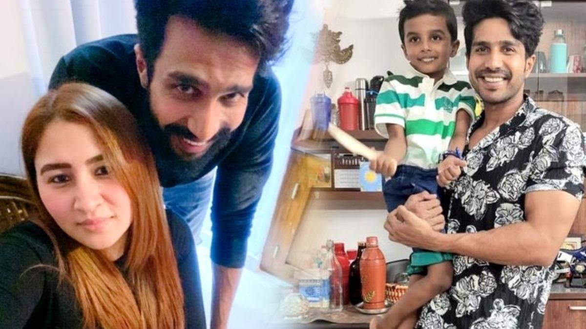 Vishnu Vishal's wife and son make his birthday special – Tamil News